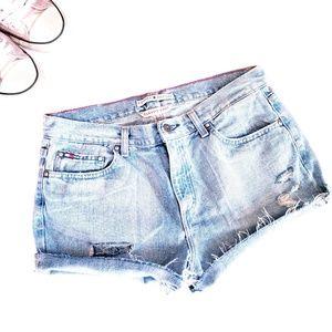 Tommy Hilfiger Jeans • Vintage High Waist Shorts